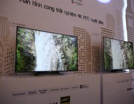 Sony trình làng dòng TV 4K HDR mới tại Việt Nam