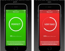 """Ứng dụng kiểm tra """"sức khỏe"""" pin của iPhone"""