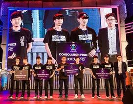 Đài Loan đăng quang ngôi vô địch giải đấu Mobile Esports đầu tiên tại VN