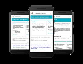 Google sắp tung tính năng giúp bạn chữa bệnh