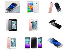 Top 10 sản phẩm smartphone bán chạy 6 tháng đầu năm 2016