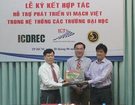 Vi mạch Việt tiến vào hệ thống trường đại học