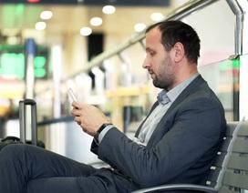 Đàn ông không thể xa smartphone trong 21 giây