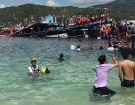 """Nhà hàng nổi lật trên vịnh Vĩnh Hy được """"lén"""" cải tạo từ bè nuôi cá"""