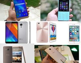 """Loạt điện thoại mới """"lên kệ"""" thị trường Việt trong tháng 10/2016"""