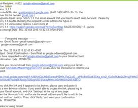 Hacker có thể chiếm tài khoản Gmail dễ dàng bởi lỗ hổng bảo mật nghiêm trọng