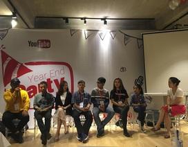 """Youtube trao """"Nút Play vàng và bạc"""" cho các nhà sáng tạo nổi bật ở Việt Nam"""