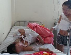 """Vụ hai mẹ con bị tạt axít: Nạn nhân tiếp tục bị """"khủng bố"""""""