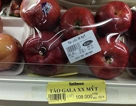 Nên tạm ngưng sử dụng táo nghi nhiễm khuẩn nhập từ Mỹ