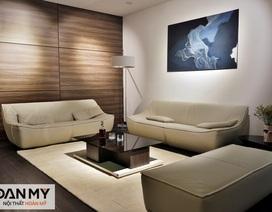 Lần đầu tiên, mô hình căn hộ mẫu được thiết kế ngay tại showroom nội thất
