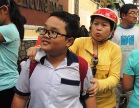 TPHCM: Học sinh khảo sát vào lớp 6 Trường Trần Đại Nghĩa