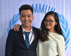 Bộ đôi 9X tổ chức hội nghị mô phỏng Liên Hợp Quốc