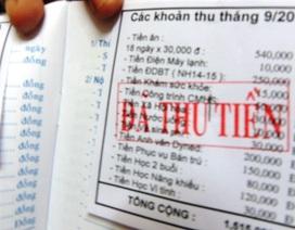 TPHCM: Chưa được thu tiền trường ngoài thu hộ, chi hộ
