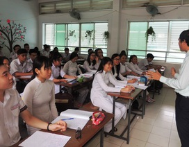 Học sinh lớp 12 thi học kỳ theo đề thi trắc nghiệm