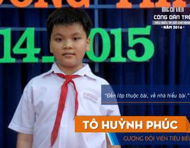 """Cậu bé 11 tuổi trở thành """"Công dân trẻ tiêu biểu TPHCM"""""""