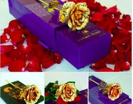 """Hoa hồng vàng """"loạn giá"""": Từ 100 nghìn đến…250 triệu đồng/bông"""