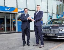 """VIB """"bắt tay"""" BMW ký hợp tác chiến lược cung cấp dịch vụ tài chính"""