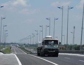 Bác bỏ đề xuất tăng thu phí cao tốc Cầu Giẽ - Ninh Bình