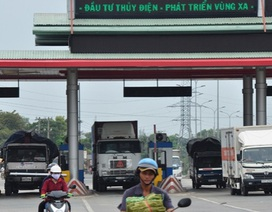 Chính phủ hứa rà soát giảm 10-20% phí tại một số trạm BOT