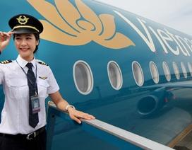 Thu nhập bình quân của phi công Vietnam Airlines vượt 100 triệu đồng/tháng
