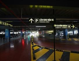"""Những hình ảnh bên trong nhà xe """"5 sao"""" ở sân bay Tân Sơn Nhất"""