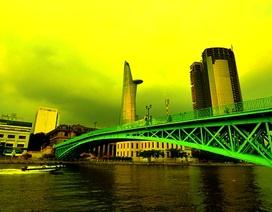 Ngắm nhìn cây cầu hơn trăm tuổi giữa Sài Gòn