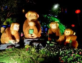 Nghệ sĩ tản mạn về năm khỉ