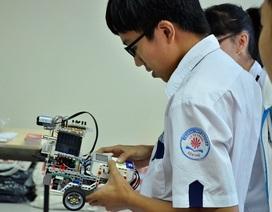 Hào hứng ứng dụng thuật toán Pascal để lập trình robot
