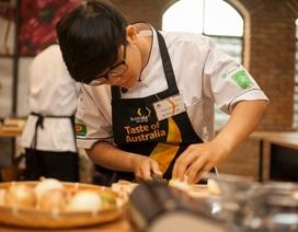 Đầu bếp trẻ Việt tranh tài với đặc sản xứ sở Chuột túi