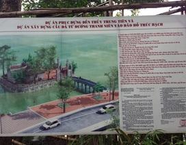 Phục dựng đền Cẩu Nhi với kinh phí 20 tỷ sau nhiều năm tranh cãi