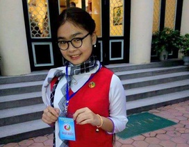 """Quán quân """"Giọng hát Việt nhí Thiện Nhân nhận bằng khen Tài năng trẻ"""
