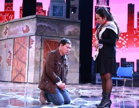 Quang Thắng quỳ gối xin Thanh Thanh Hiền cho yêu con gái