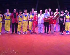 Xiếc Việt mang xúc động đến cho khán giả Lào