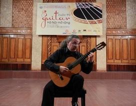 Guitar nổi tiếng người Ý sẽ biểu diễn tại Hà Nội