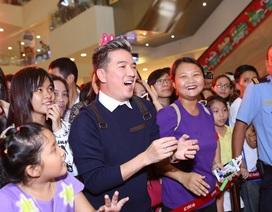 """Đàm Vĩnh Hưng """"quẩy"""" hết mình trong sinh nhật Dương Triệu Vũ"""