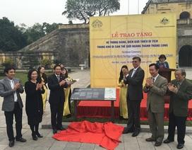 Australia trao 14 biển bảng đạt chuẩn quốc tế cho Hoàng thành Thăng Long