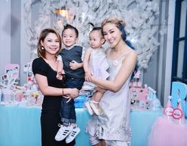 """Thanh Thảo, Trang Trần đưa """"cục cưng"""" đến dự sinh nhật con gái Maya"""