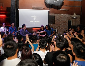 Đêm nhạc tưởng niệm 100 ngày mất của Trần Lập chật kín khán giả
