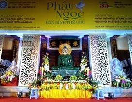 Tượng Phật ngọc lớn nhất thế giới đã về đến Hà Nội