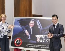 Trần Bảo Sơn được chọn làm đại sứ chống buôn bán sừng tê giác