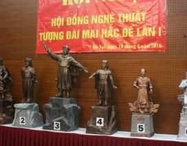 Hà Tĩnh đã chọn xong mẫu tượng đài vua Mai Hắc Đế