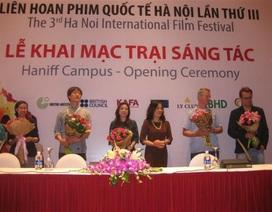 LHP Quốc tế Hà Nội lần IV mở trại sáng tác trước thềm khai mạc
