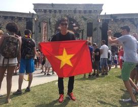 Slim V tham gia lễ hội âm nhạc EDM lớn nhất thế giới tại Bỉ