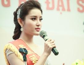 """Hoa hậu Kỳ Duyên để tuột vai trò """"Đại sứ"""" vào tay Á hậu Huyền My"""