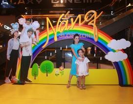 BTV Hoài Anh lần đầu đưa con gái đi ra mắt phim