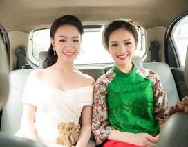"""""""Cô gái vàng"""" của Top 10 Hoa hậu Việt Nam hội ngộ Hoa khôi xứ chè"""