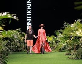 Độc đáo bộ sưu tập thời trang xuyên thấu lấy ý tưởng từ gốm Bát Tràng