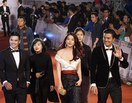 Đông đảo ngôi sao điện ảnh đến dự lễ khai mạc LHP Hà Nội