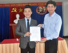 Ca sĩ Quang Hào được bổ nhiệm quyền Giám đốc Nhà hát Trưng Vương