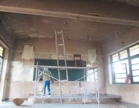 Lớp học phát hỏa bất thường, nghi có người đốt